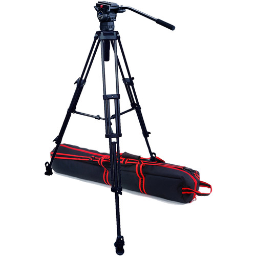 Acebil Professional Tripod System with CH0 / T75M / S-52 Case