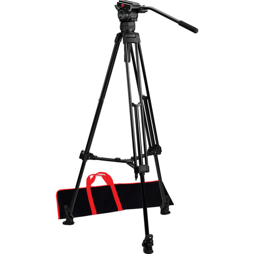 Acebil CS-08M Professional Tripod System with Mid-Level Spreader