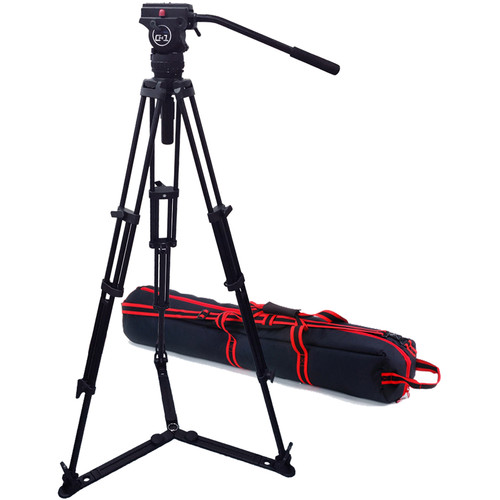 Acebil Professional Tripod System with CH1 / T75CG / S-52 Case
