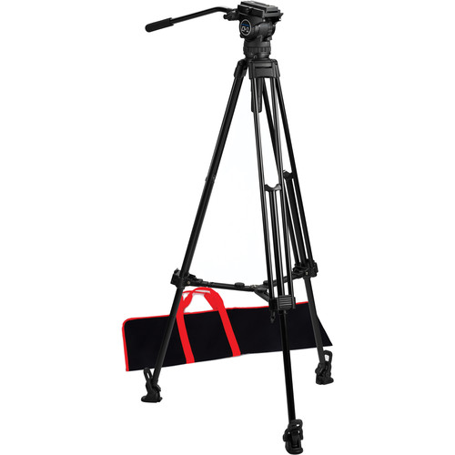 Acebil CS-18M Professional Tripod System with Mid-Level Spreader