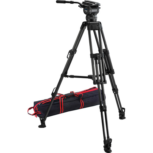 Acebil CS-892CM 100mm Ball Base Tripod with CH8 Head and Mid-Level Spreader