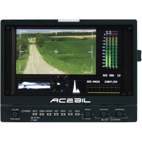 """Acebil HDF-700V 7"""" Field Monitor and Viewfinder"""