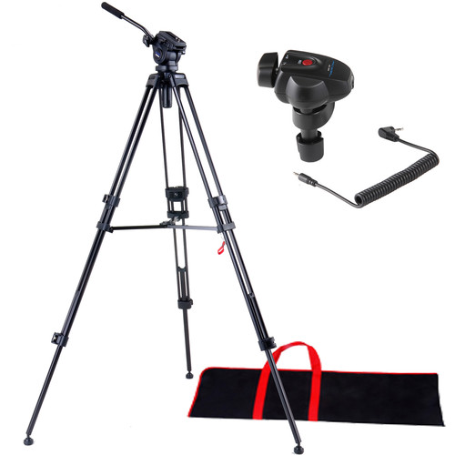 Acebil I-605DX Tripod System with SZ300 Universal Zoom Controller