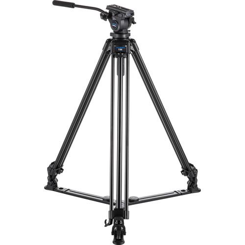 Acebil J-805GX Tripod & Zoom Controller Kit for Sony Cameras with AV/R Remote Jack