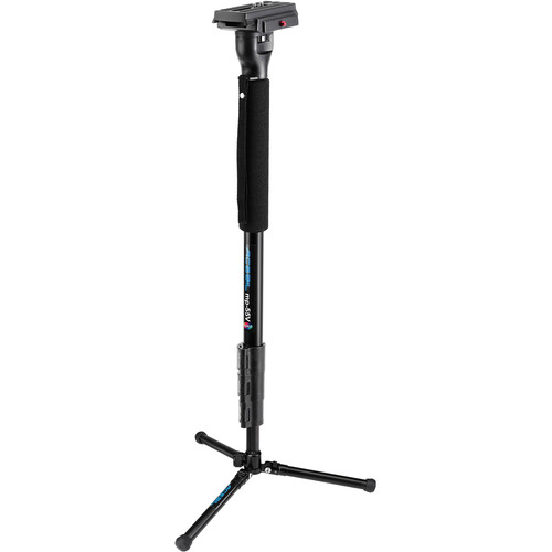 Acebil mp-55V(B) Aluminum Monopod with QR Plate and MPBS Floor Stand
