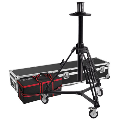 Acebil PD3800 Pedestal with Carrying Case & D7 Dolly