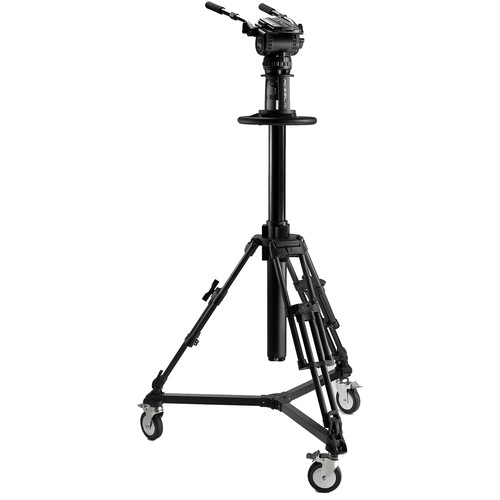 Acebil PD3800 Pedestal with Carrying Case + Dolly D5 + CH8 Head with Dual Pan Bars