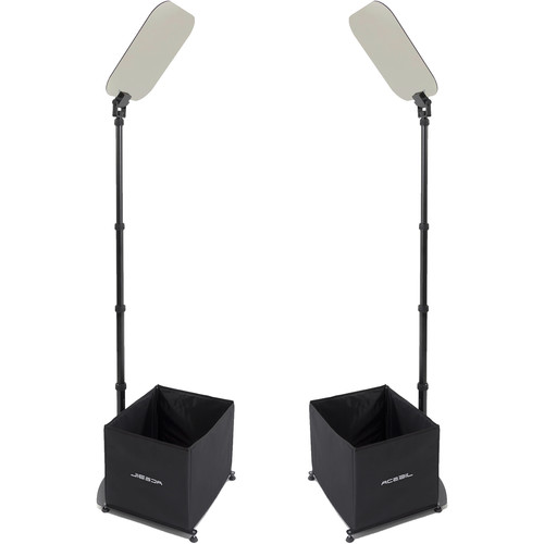 """Acebil 15"""" High-Brightness Conference Teleprompter (Pair)"""