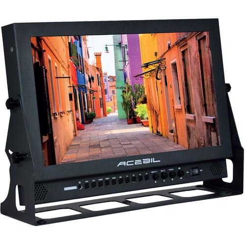 "Acebil 17"" Dual 3G SDI Broadcast Monitor"