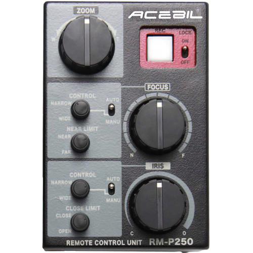 Acebil RM-P250 Focus/Iris/Zoom Controller for Panasonic Camcorders