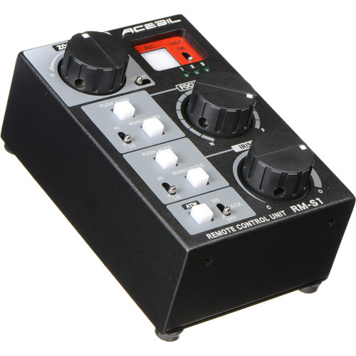 Acebil RM-S1 Focus/Iris/Zoom Controller for Sony and Canon LANC Camcorders