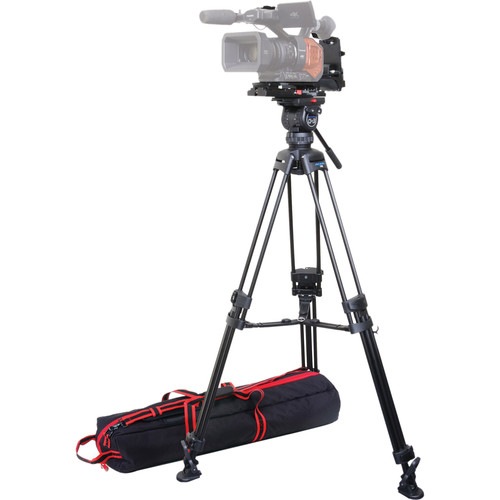 Acebil ST-7R KIT1M ST-7R Mountable Shoulder Adapter and CS-382M Professional Tripod System Kit