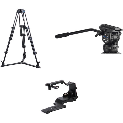 Acebil ST-7R KIT2G ST-7R Mountable Shoulder Adapter and CS-482G Professional Tripod System Kit