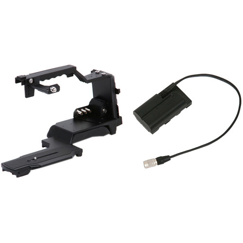 Acebil ST-7R Shoulder Adapter with DC-P155 Cable for Panasonic AG-AC130/160