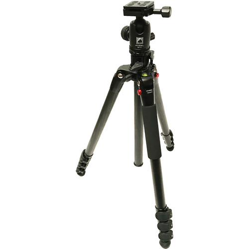 Acebil TAE-284CF Carbon Fiber Tripod with BH-12 Ball Head
