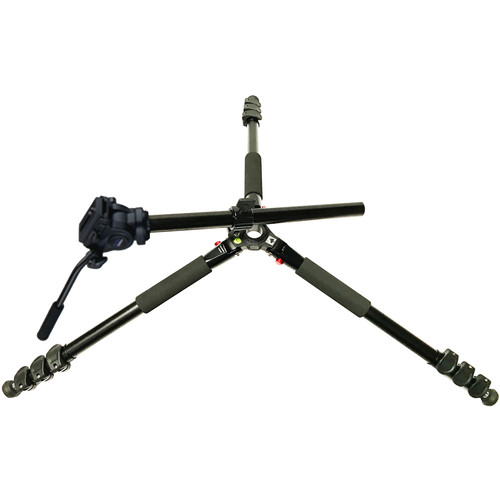 Acebil TAE-284F Aluminum Tripod with H605F Pan/Tilt Head