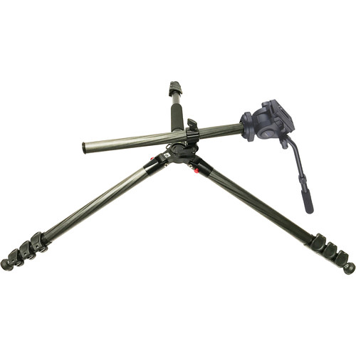 Acebil TAE-324CF Carbon Fiber Tripod with H805F Pan/Tilt Head