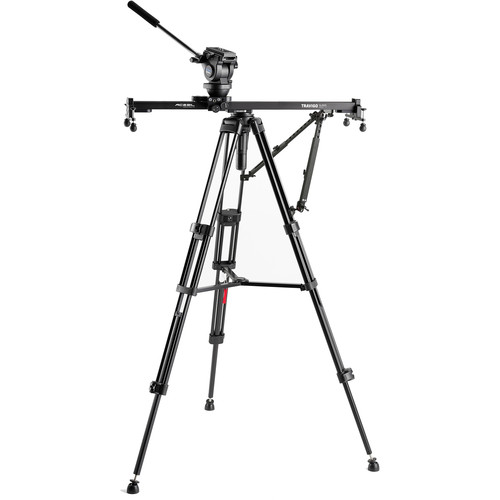 Acebil Travigo 1000 Basic Slider Kit with I-705DX Dual Tripod System & HSTA-2 Dual Support Arm