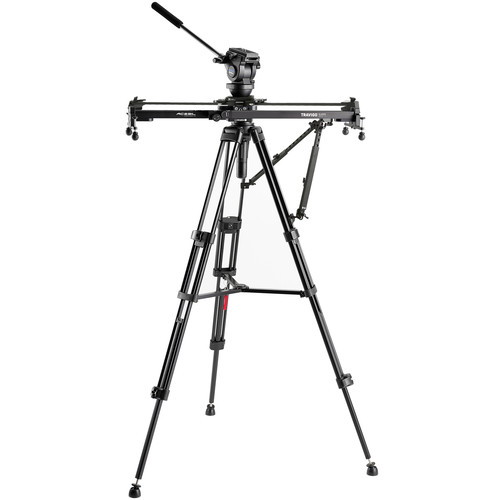 Acebil Travigo 1000 Basic Slider Kit with I-705DX Dual Tripod, HSTA-2 Dual Arm & Smart Eye 1000
