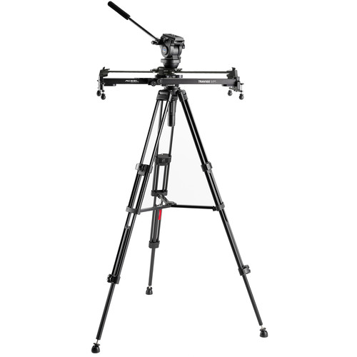 Acebil Travigo 600 Basic Slider Kit with I-705DX Dual Tripod System & Smart Eye 600