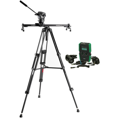 Acebil Travigo 600 Basic Slider Kit with I-705DX Dual Tripod System & HDN-DC Drive