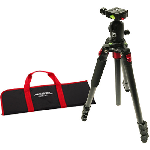 Acebil TSI-284CE Carbon Fiber Tripod with BH-12 Ball Head