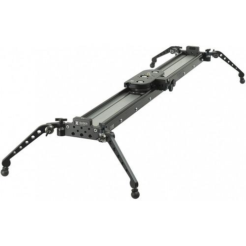 """ACETEK Slidekamera X SLIDER with Pro Side Feet & Smart Brakes (39.4"""", 44 lb Payload)"""