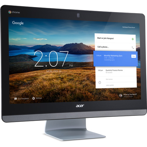 "Acer 23.8"" Chromebase 24 Multi-Touch All-in-One Desktop Computer"