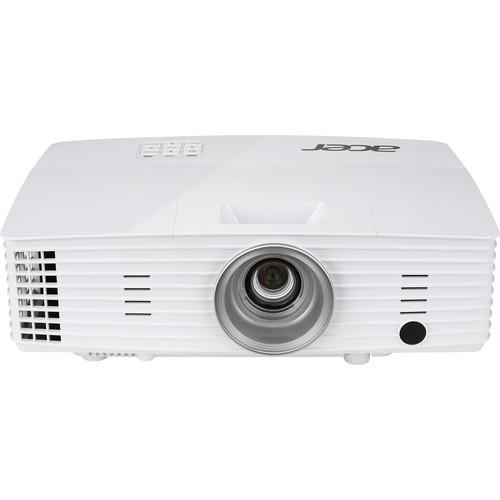 Acer X1385WH Essential Series WXGA 3200-Lumen DLP Projector (White)