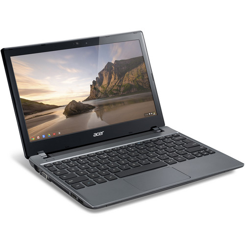 "Acer C710-2487 C7 Series 11.6"" Chromebook Computer (Iron Gray)"