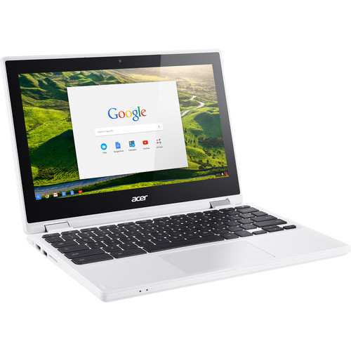"Acer 11.6"" 32GB Chromebook R 11 Multi-Touch 2-in-1 Notebook (White)"