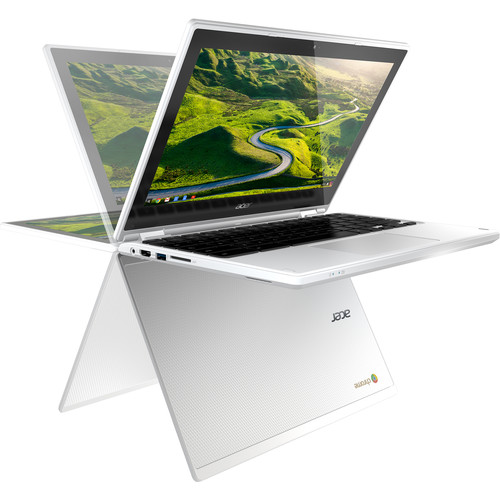 "Acer 11.6"" 32GB Multi-Touch 2-in-1 Chromebook R 11 (White)"