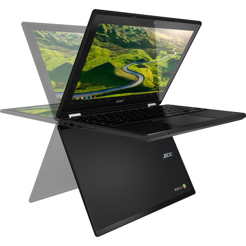 """Acer 11.6"""" 32GB Multi-Touch 2-in-1 Chromebook R 11 (Black)"""
