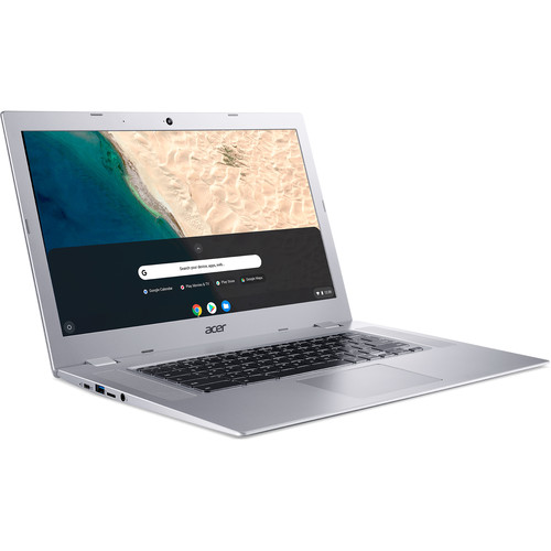 """Acer 15.6"""" 32GB Multi-Touch Chromebook 315 (Pure Silver)"""