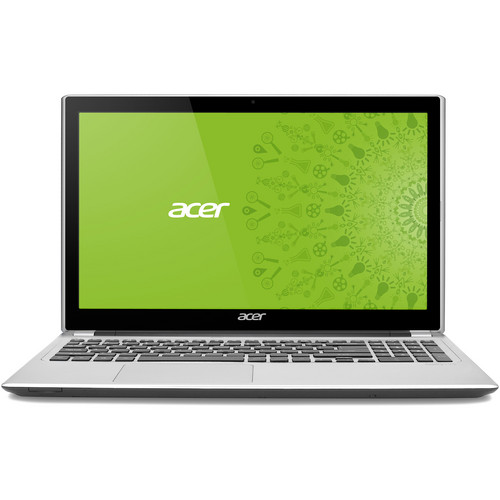 "Acer Aspire V5-571P-6407 15.6"" Multi-Touch Notebook Computer (Silky Silver)"