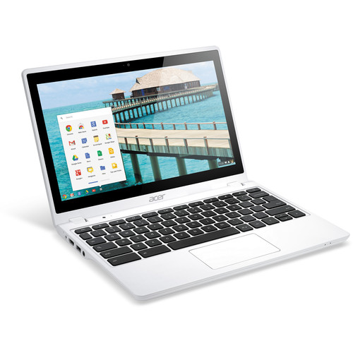 "Acer C720P-2600 11.6"" Touchscreen Chromebook Computer (Moonstone White)"