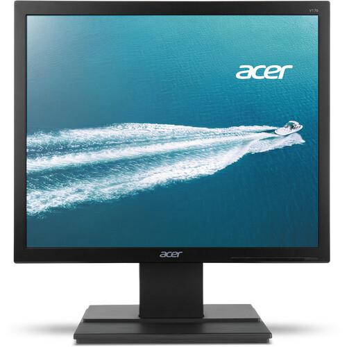 """Acer V176L bd 17"""" Essential LED Backlit LCD Monitor (Black)"""