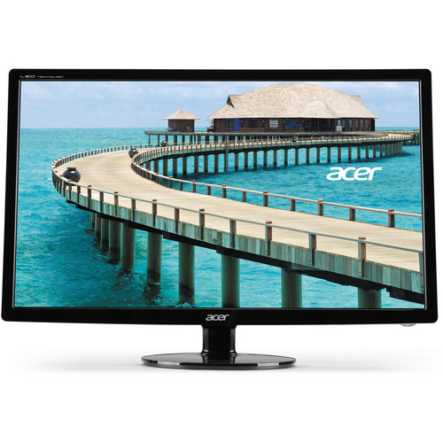 """Acer S241HL bmid Widescreen 24"""" LED-Backlit LCD Monitor"""