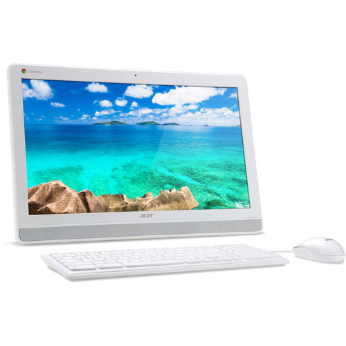 "Acer DC221HQ bwmicz 21"" Full HD All-in-One Desktop Computer (White)"