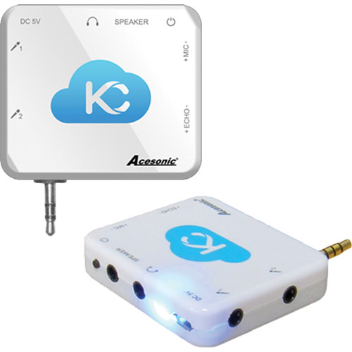 Acesonic USA Sing n Jam Karaoke Mixer for iOS and Android Devices
