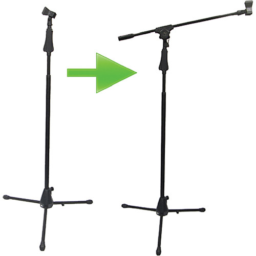 Acesonic USA MS-430 Dual-Purpose Boom Microphone Stand