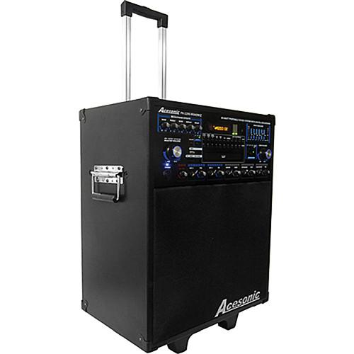 Acesonic USA PK-1290 Roadwiz Portable Multi-Format Sound System with Digital Recording