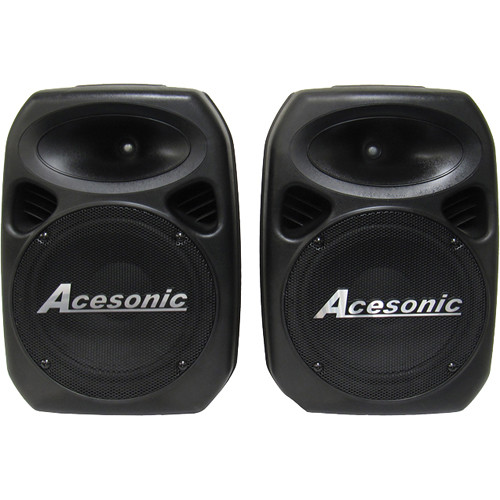 "Acesonic USA PS-420 Professional 10"" Powered Stereo Speaker System (400W)"