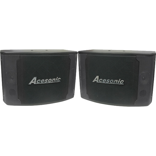 """Acesonic USA SP-280 120W 8"""" Ported Speaker System (Pair)"""