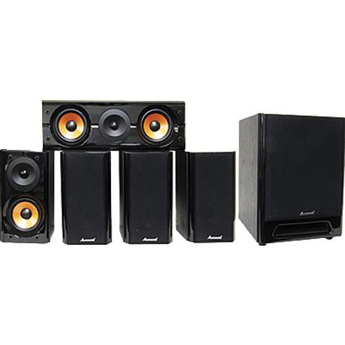 Acesonic USA SP-710B 5.1 Surround Sound Karaoke / Home Theater Speaker System (6 piece)