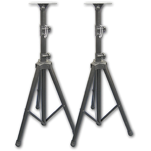 Acesonic USA SS-689 Professional Heavy Duty Speaker Stands (Pair)