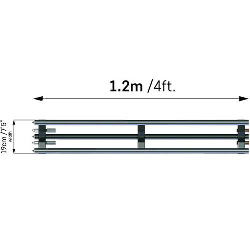 ACETEK Ex Rail For Atlas Slider (1200mm)