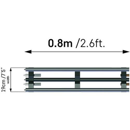 ACETEK Ex Rail For Atlas Slider (800mm)