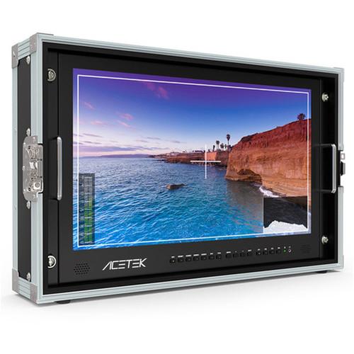 ACETEK 4K Carry-On 15.6'' Broadcast Director Monitor