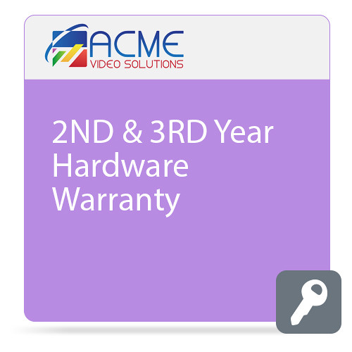 ACME VIDEO SOLUTIONS Additional 2-Year Hardware Warranty for ACME GO (Download)